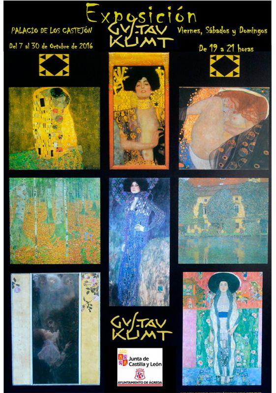 La exposición 'Gustav Klimt' llega a Ágreda y se podrá visitar durante el mes de Octubre