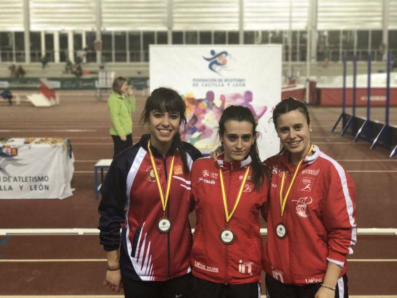 Tres finalistas del CAEP en el Campeonato de España Promesa
