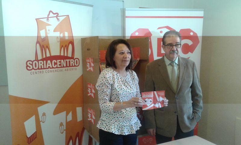 Iván Jiménez Romera y Coral Gonzalo Urquía  son los ganadores de las dos cenas de  San Valentín de Soriacentro