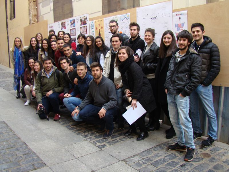 "Los jóvenes de Escuela de Artes, UVA y ""Transforming your city"" comparten sus ideas para construir Soria"