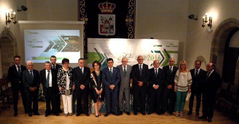 Caja Rural de Soria cierra 2016 con un resultado superior a los 7 millones de euros
