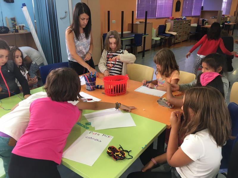 El Ayuntamiento apuesta por el ocio para niños y la conciliación familiar y oferta 800 plazas en La Peonza, la ludoteca, Arqueo-peques y el deporte