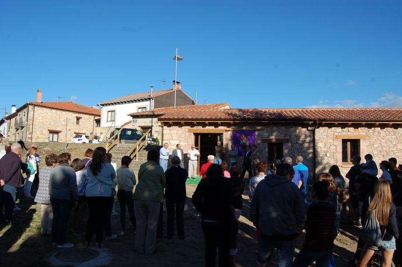 Luis Rey inaugura la Fragua de Abejar rehabilitada a través las ayudas de conservación, reparación y mejora de edificios singulares