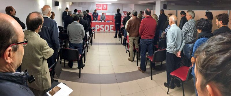 La agrupación local del PSOE en Soria elige a sus 37 delegados con el respaldo del 97,8% de la Asamblea