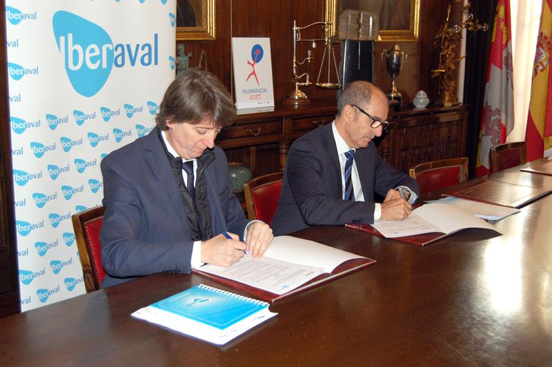 El Ayuntamiento de Soria e Iberaval inyectan 2,5 millones de euros en 22 proyectos empresariales en lo que va de año