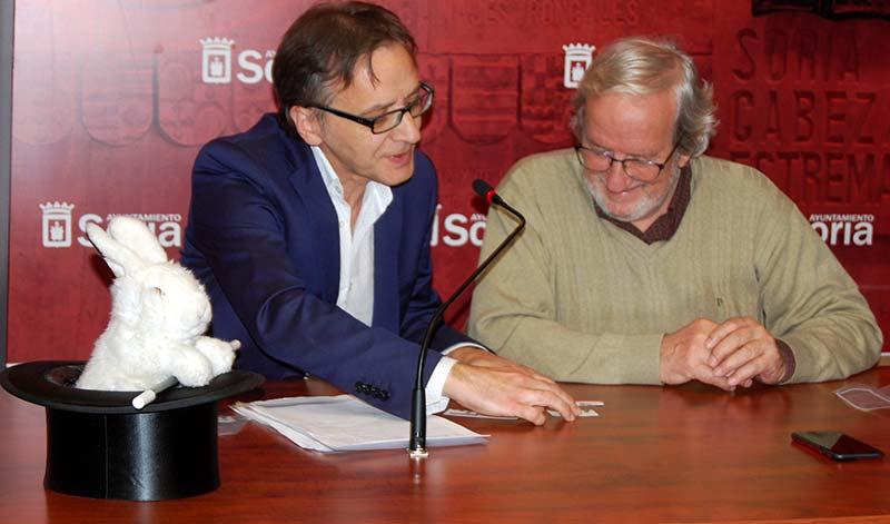 """El Festival Internacional ?""""Vive la Magia"""" llega a Soria el 4 de enero con representantes de Rusia, Estados Unidos, Italia, Francia y China"""