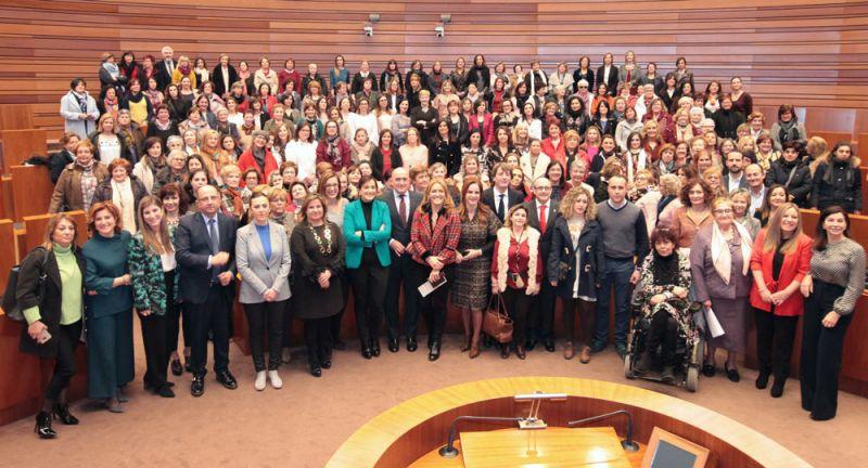 Las alcaldesas, protagonistas de las Cortes de Castilla y León en el Día Internacional de la Mujer