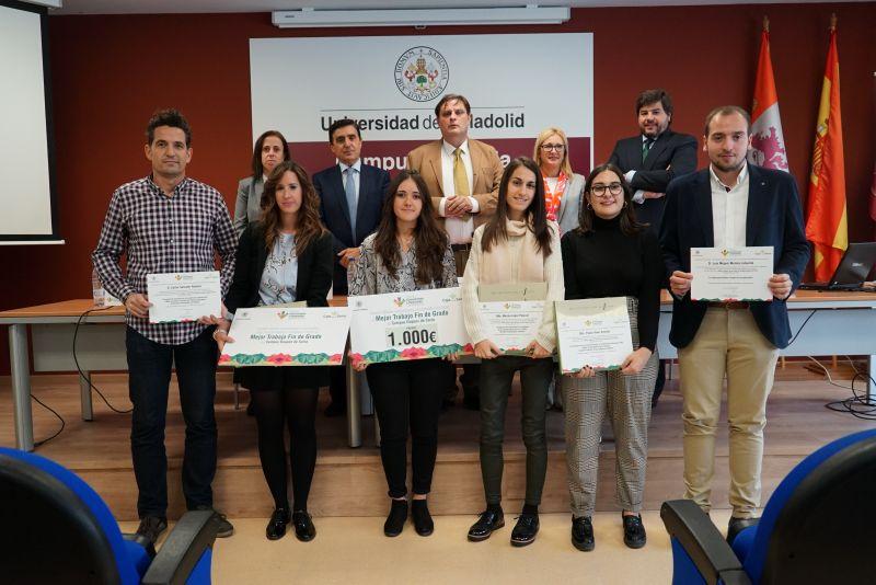 Premio Cátedra Conocimiento e Innovación Caja Rural de Soria al mejor trabajo Fin de grado del Campus Duques de Soria